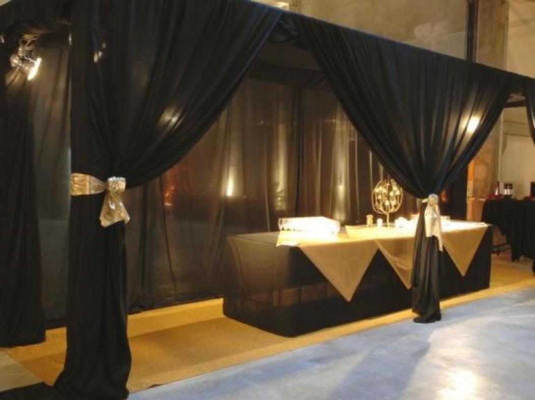 Inauguration nouveaux locaux Société Ganau Dais de buffet