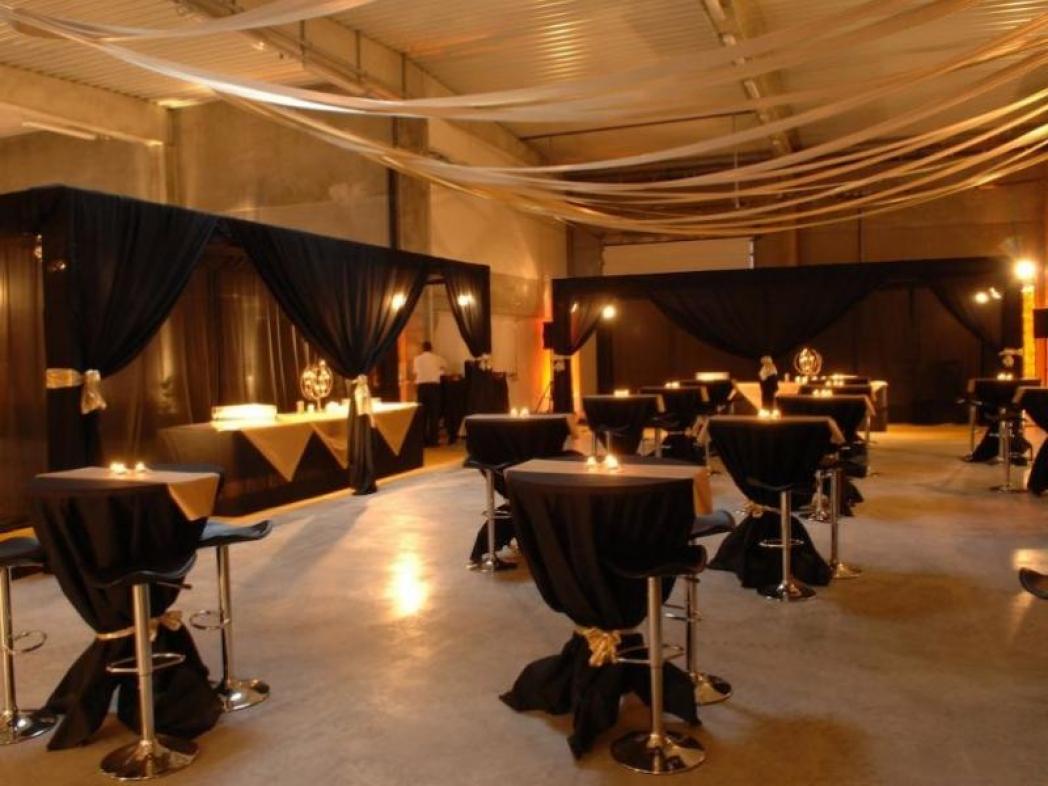 Inauguration Société Ganau Mise en décoration et lumières d