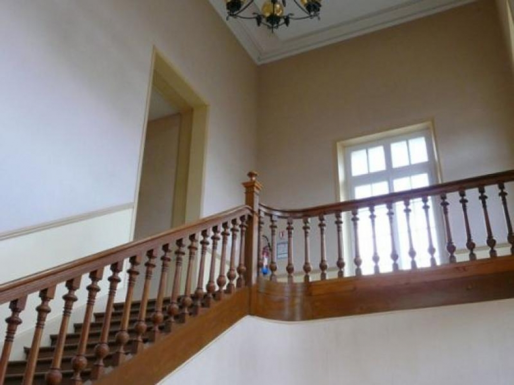 Escalier Verzy avant décoration