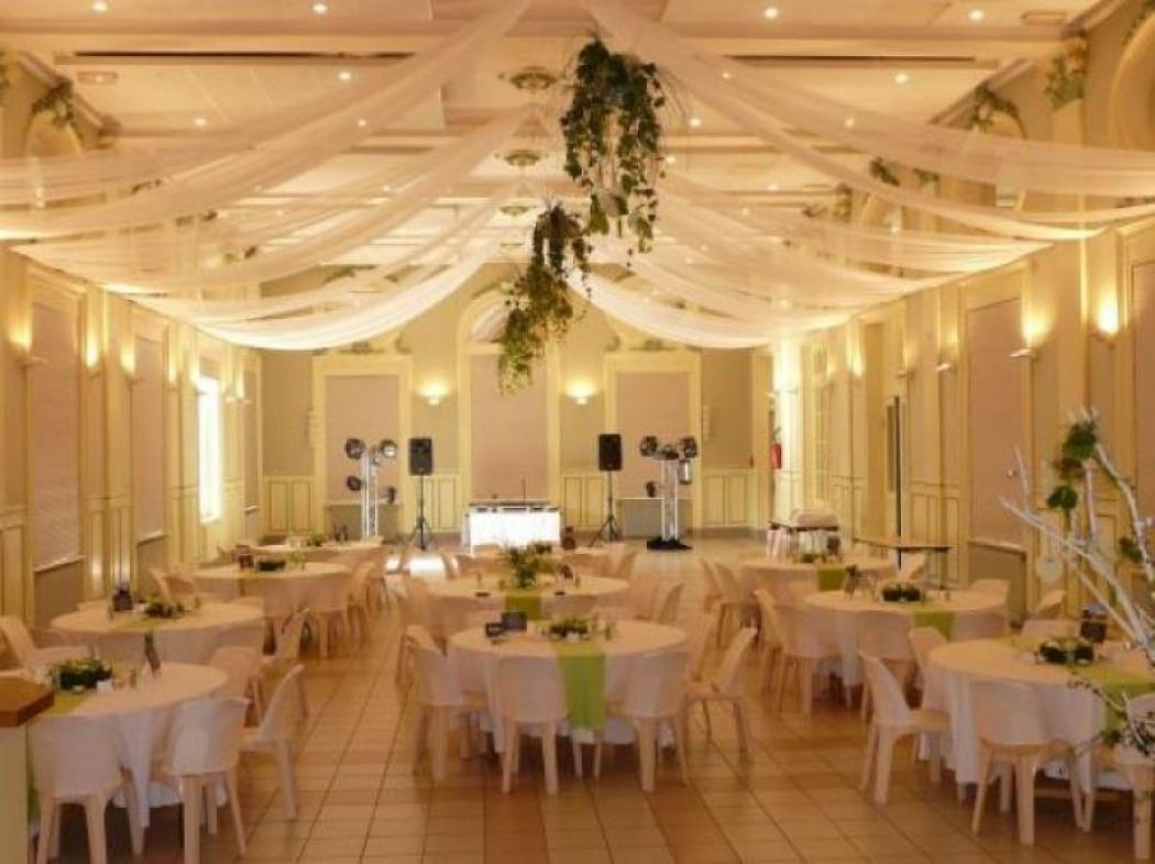 Salle de Verzy après décoration