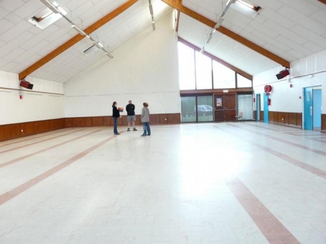 Salle gymnase avant décoration