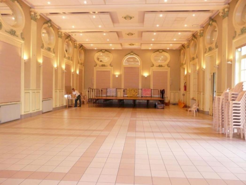 Salle de Verzy avant décoration