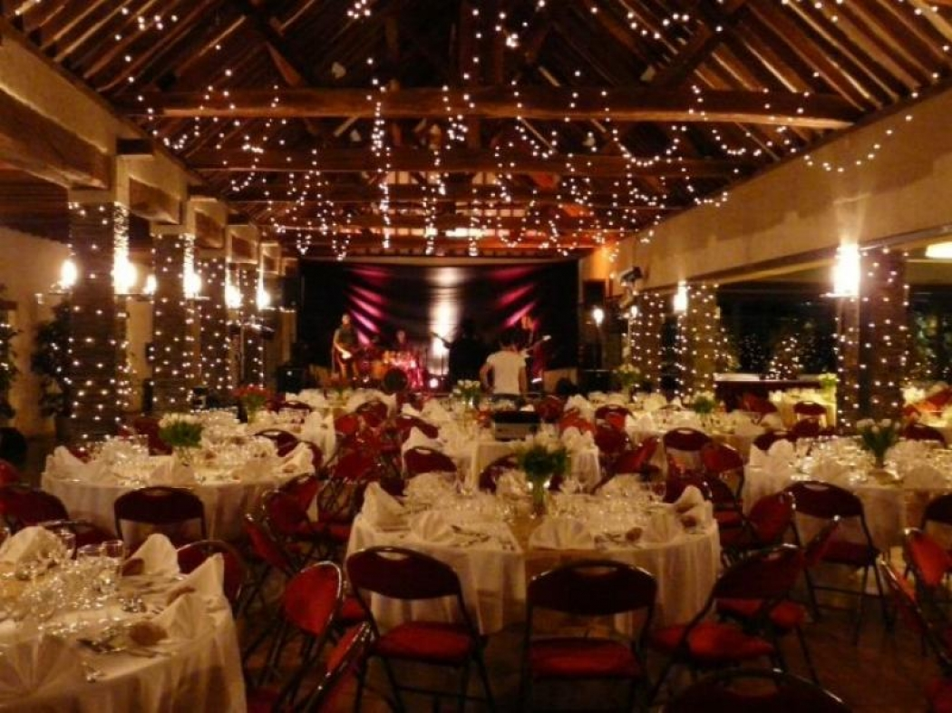 Organisation 25 ans leroy Merlin Angers Salle après décoration