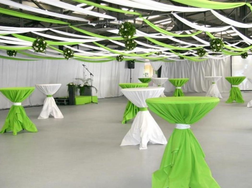 Coopérative Villedommange après décoration pour espace cocktail